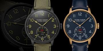 復古軍風:Ulysse Nardin航海系列領航者腕錶
