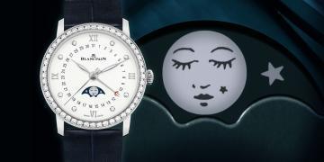 好嫵媚的月亮:寶珀Villeret月相腕錶