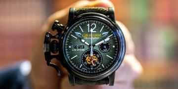 向傳奇飛行機隊致敬:Graham Chronofighter飛虎隊限量錶