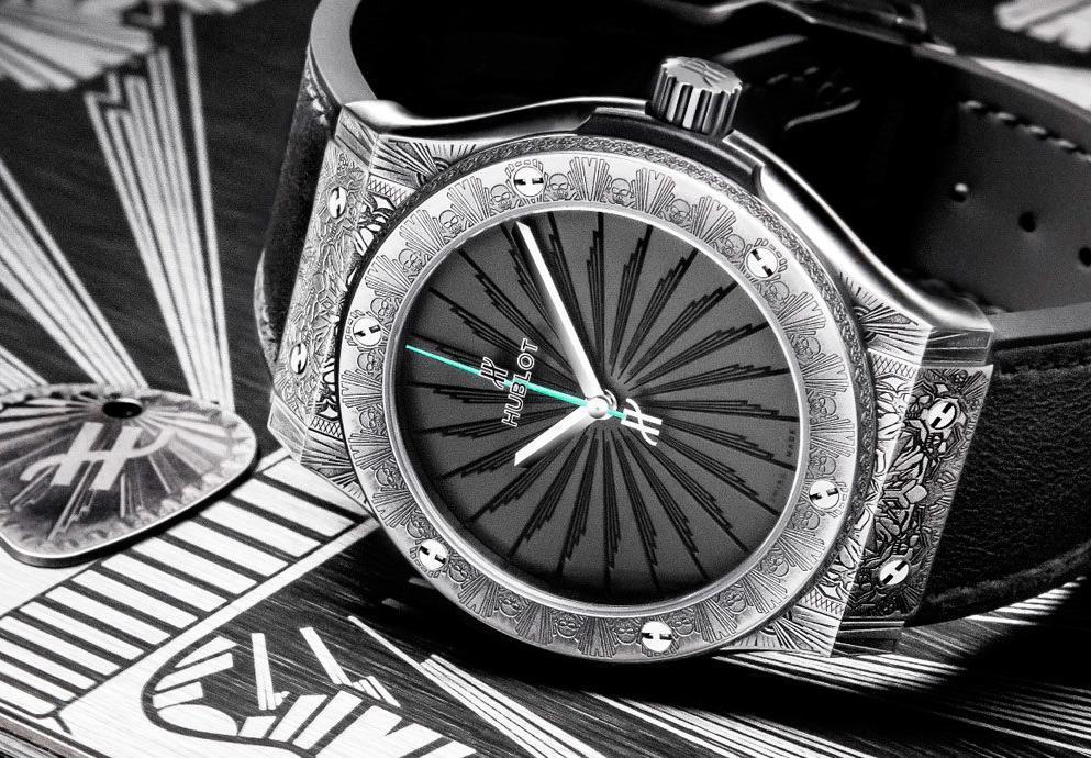 你有搖滾魂嗎? Hublot Classic Fusion Wild Customs腕錶