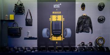 Montblanc x 倍耐力聯名款限量行李箱上市