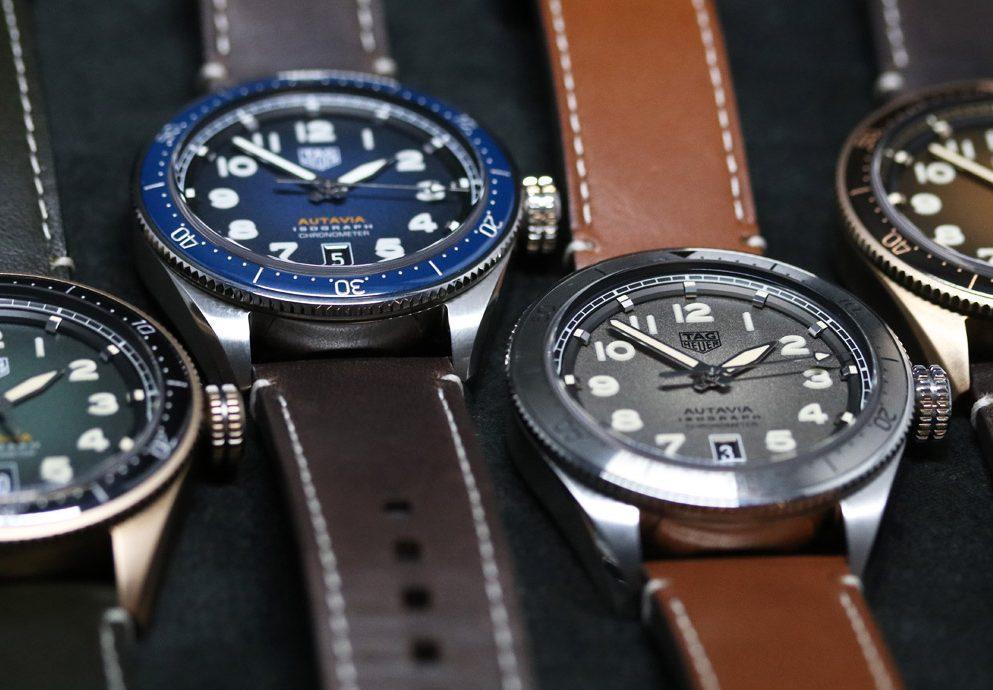 【2019 Basel錶展報導】用碳製造游絲! TAG Heuer Autavia腕錶系列
