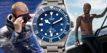 詮釋Tudor天生敢為:David Beckham挑戰自由潛水