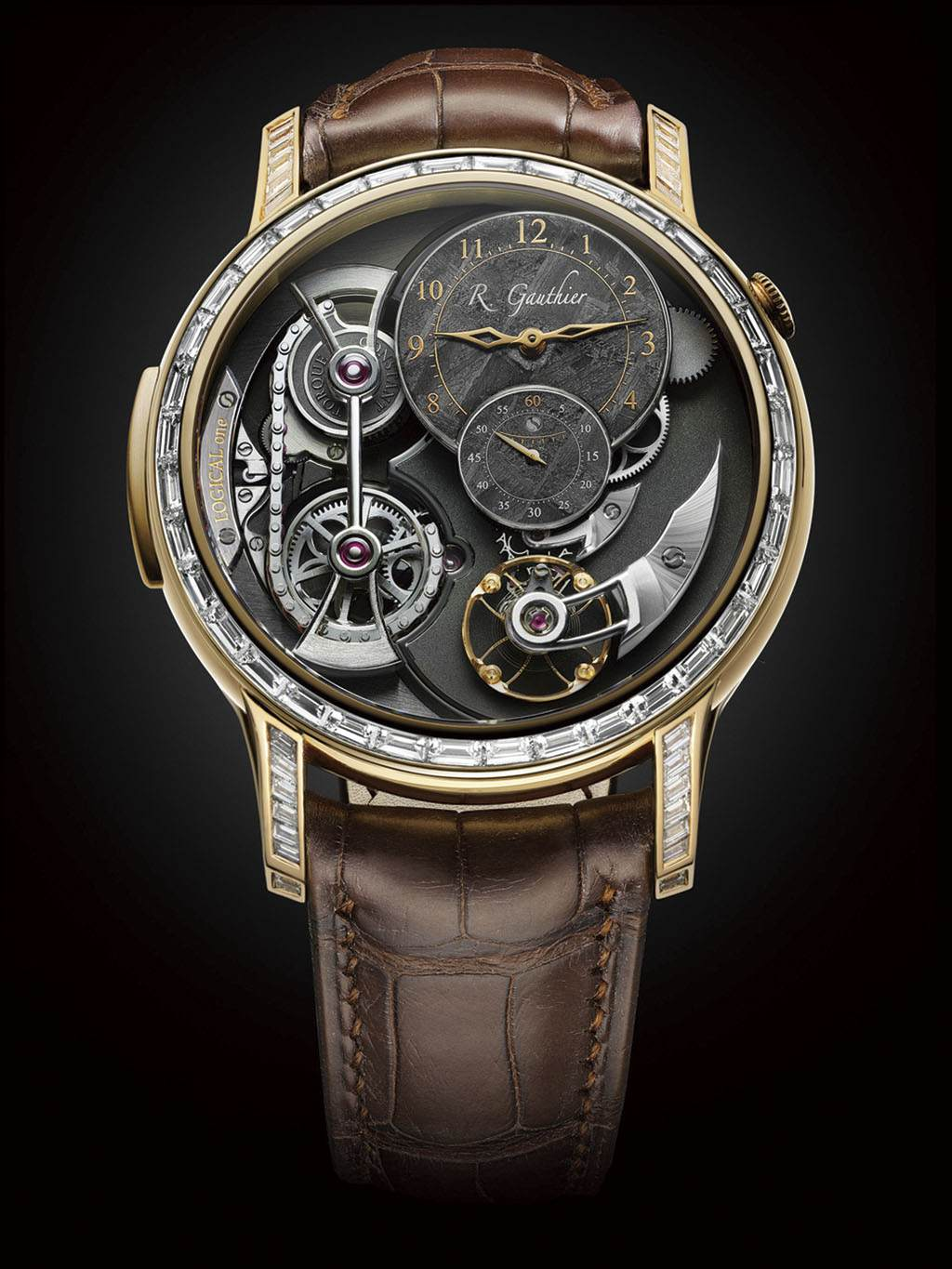 Romain Gauthier Logical One Bronze Baguette
