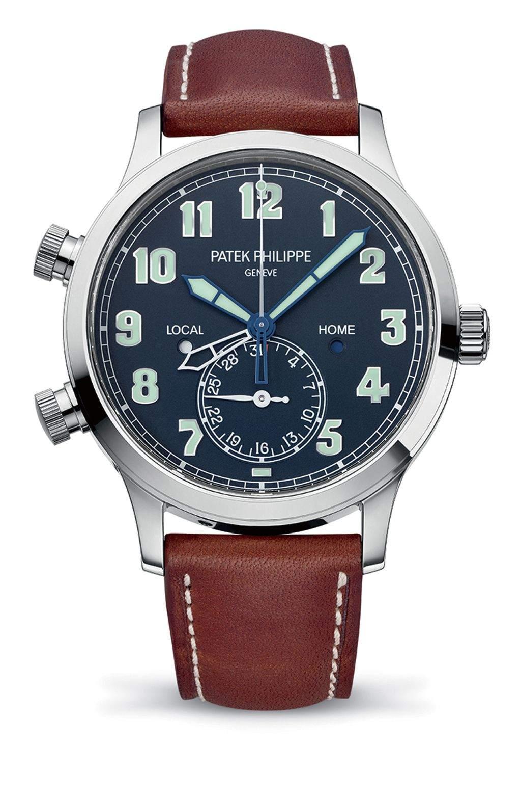 5524G-001 Calatrava Pilot Travel Time 飛行家旅行時間腕錶