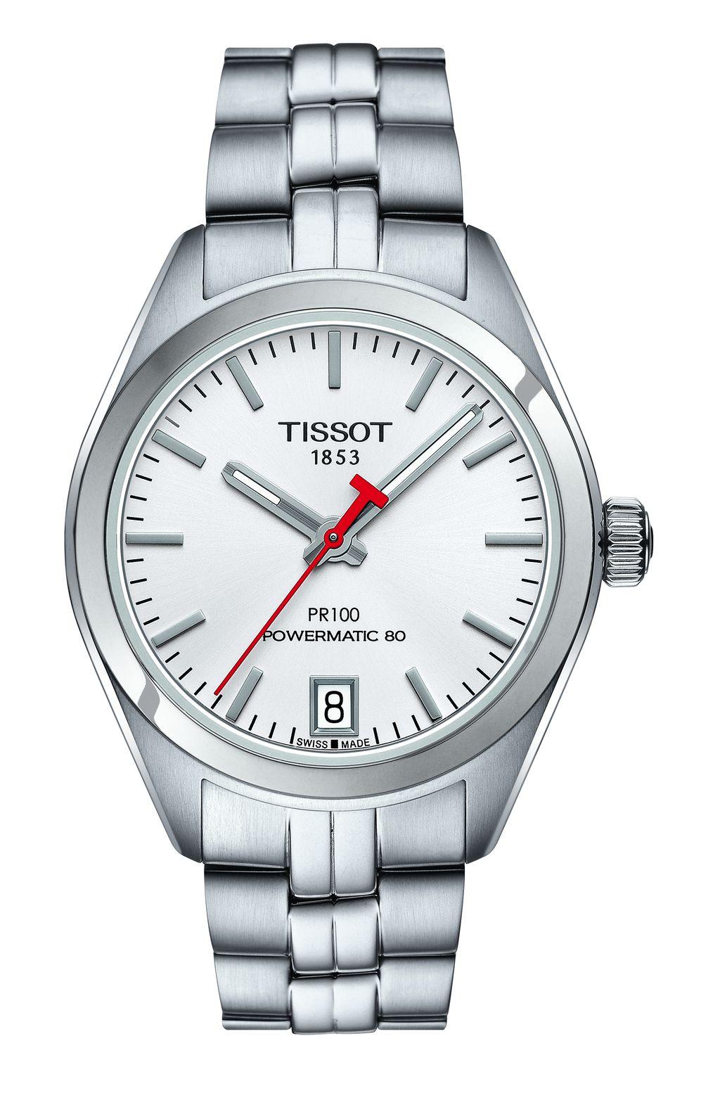 Tissot PR100 系列 Powermatic 80 2018亞運限定款女錶