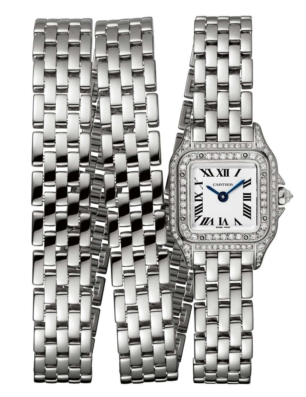 卡地亞 Panthère de Cartier 美洲豹三環錶鍊腕錶迷你款