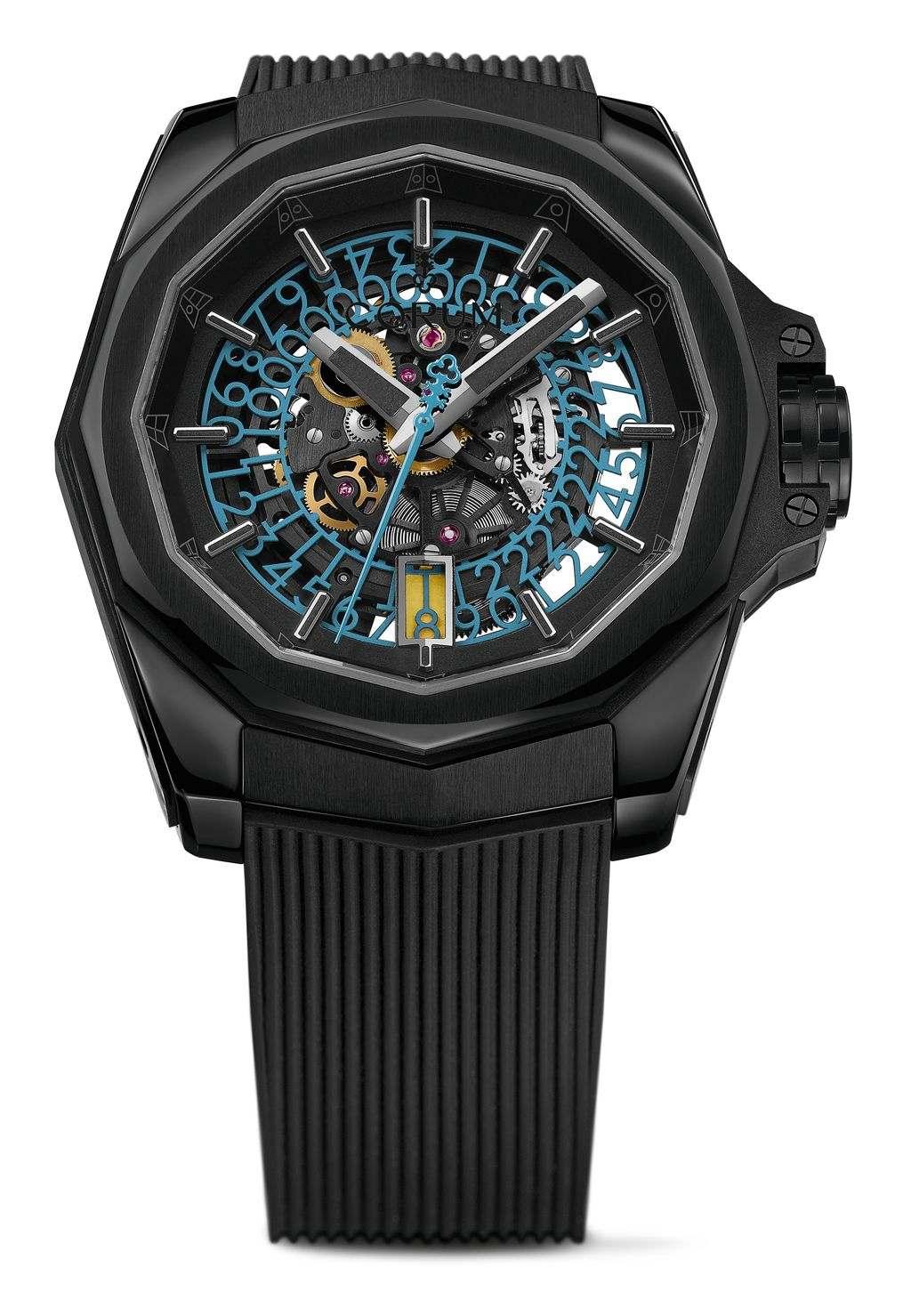 崑崙海軍上將系列AC-ONE鏤空自動腕錶