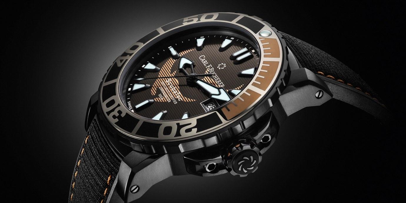 深海王者:Carl F. Bucherer柏拉維深潛腕錶系列「黑魔鬼魚特別版」