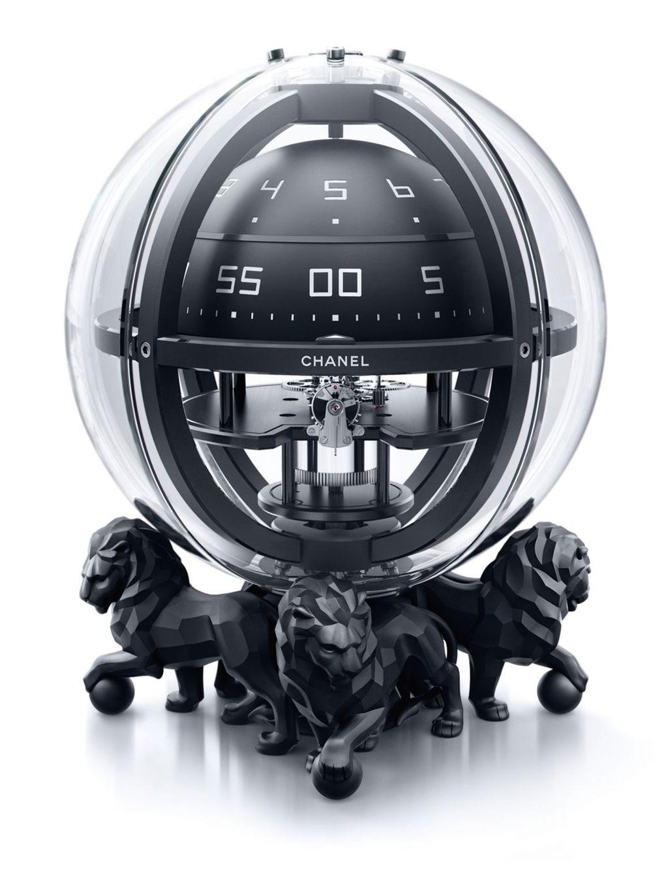香奈兒Monsieur球體計時座鐘