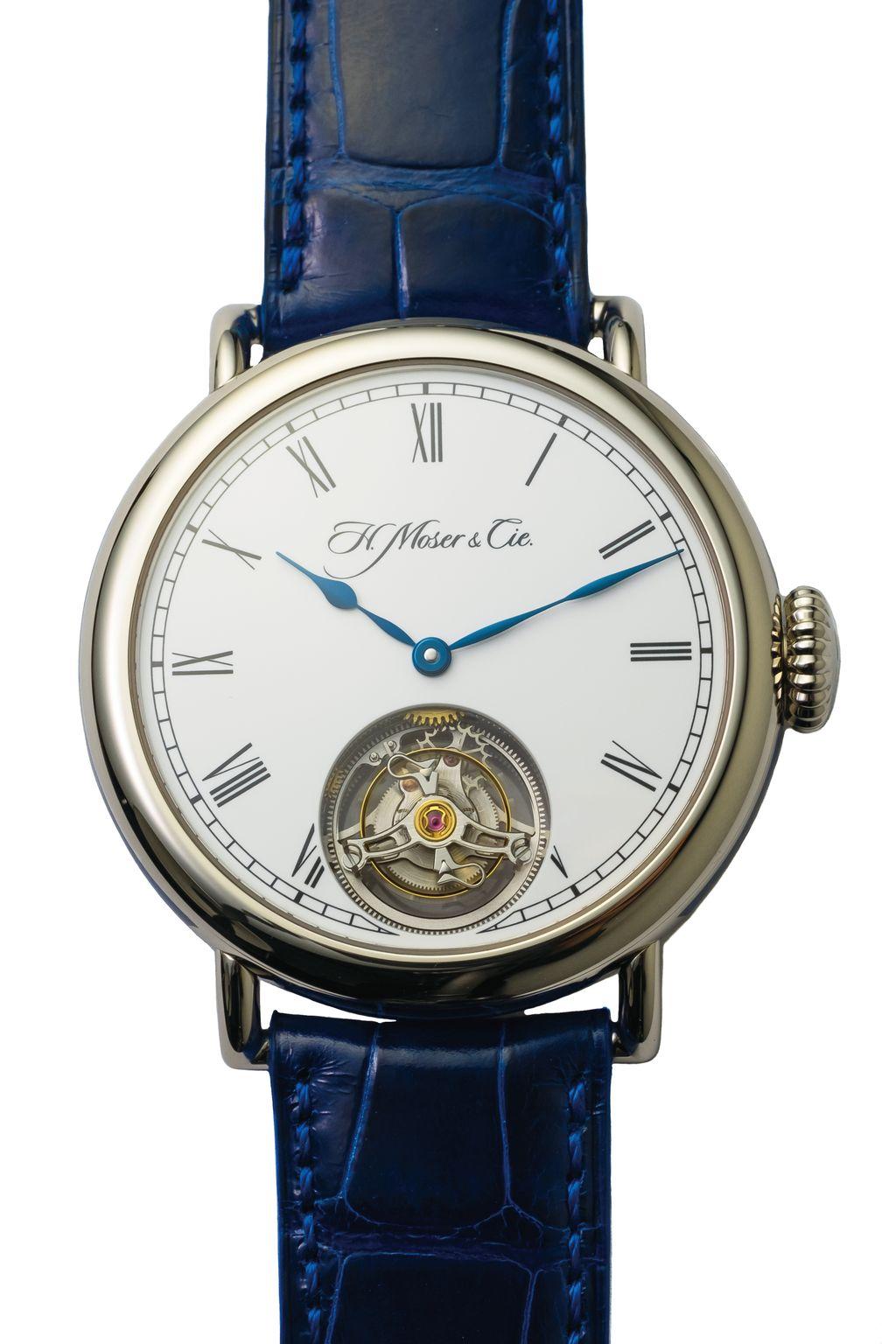 H. Moser Heritage 經典陀飛輪腕錶
