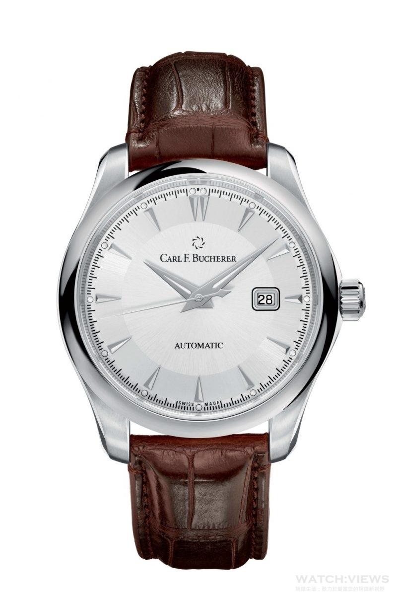 Manero AutoDate 馬利龍自動日曆腕錶 Image