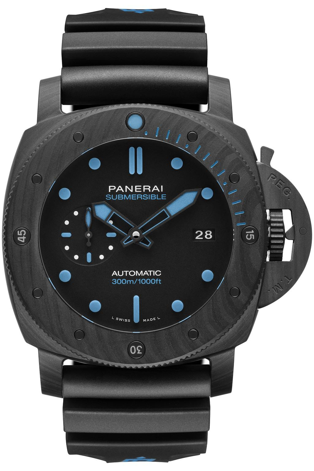 沛納海 Submersible Carbotech 碳纖維專業潛水腕錶 ─ 47毫米 PAM1616
