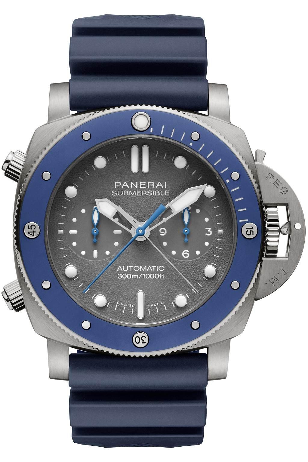 沛納海 Submersible專業潛水計時腕錶 Guillaume Néry版 ─ 47毫米 PAM982