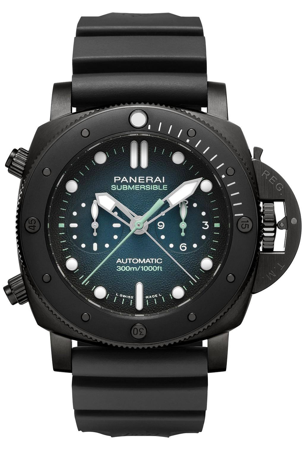 沛納海 Submersible專業潛水計時腕錶 Guillaume Néry特別版 ─ 47毫米 PAM983