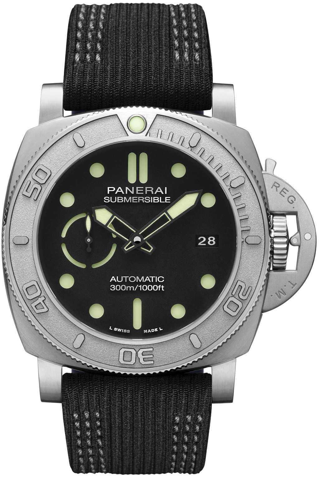 沛納海 Submersible Mike Horn 專業潛水腕錶 ─ 47毫米 PAM984
