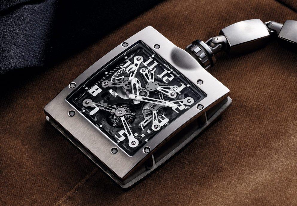 最炫懷錶:RICHARD MILLE RM-020 陀飛輪懷錶