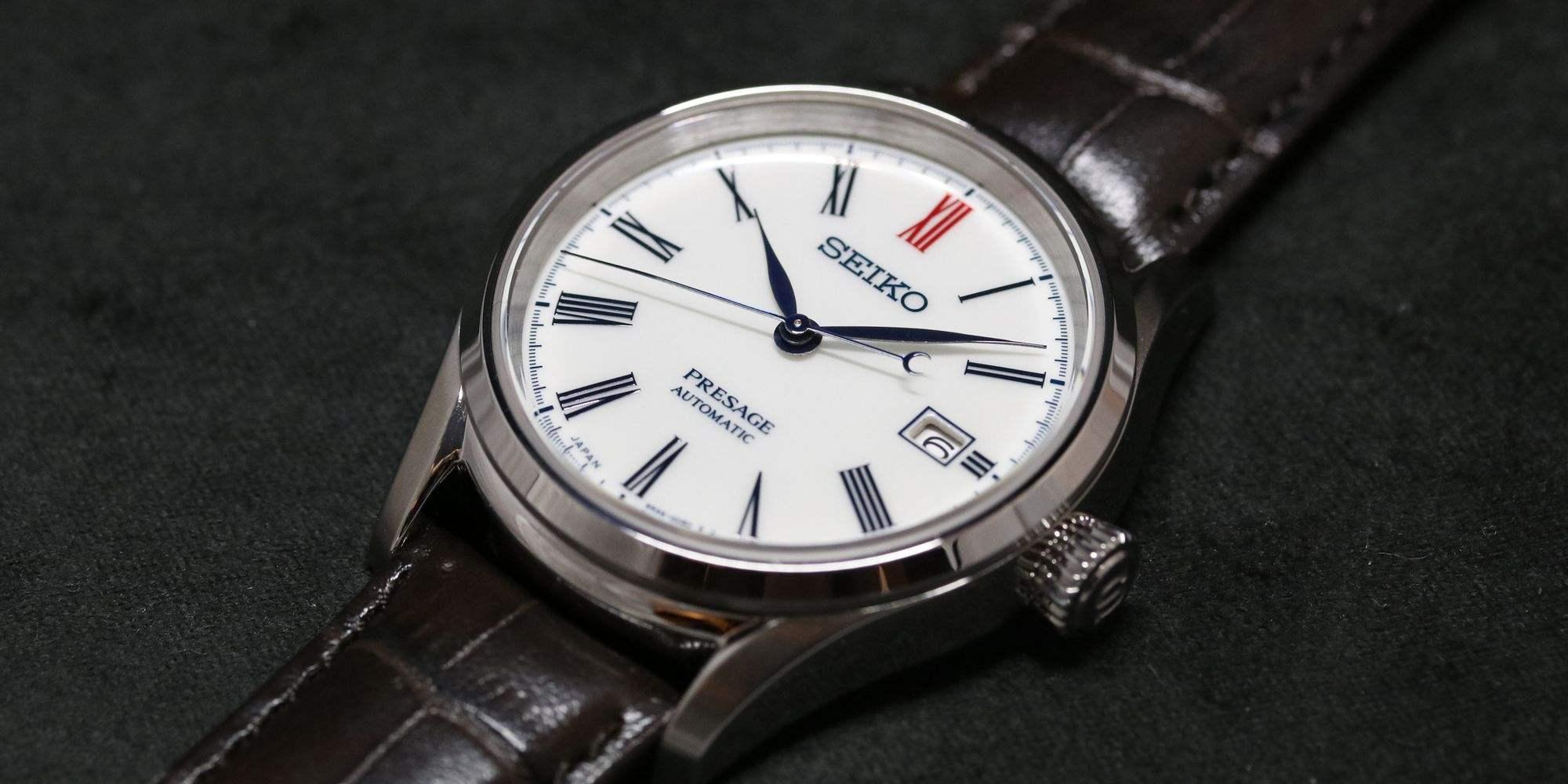 【每週一錶】將百年瓷器文化戴在手上:Seiko Presage有田燒陶瓷腕錶