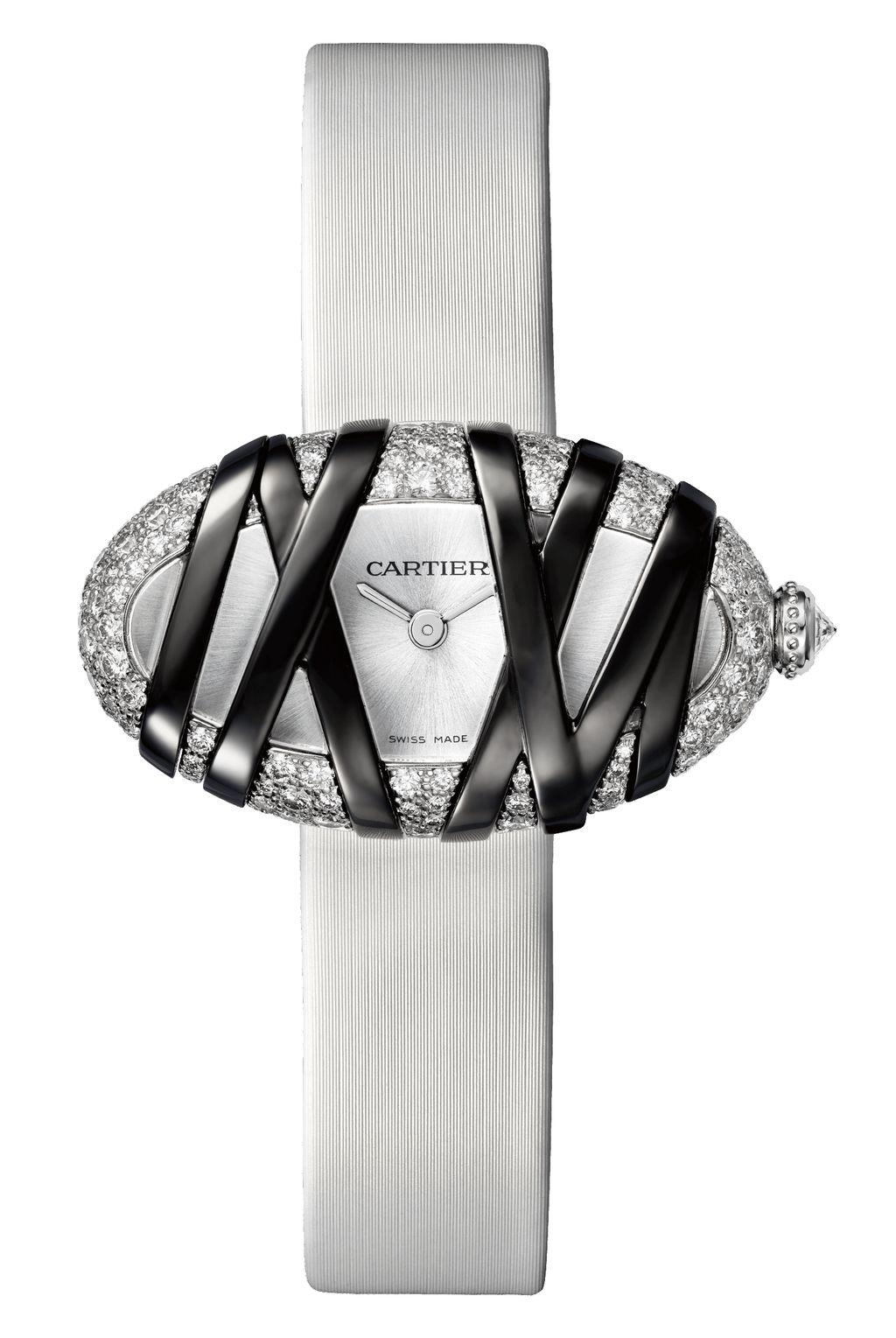 卡地亞 Cartier Libre Baignoire Interdite 腕錶