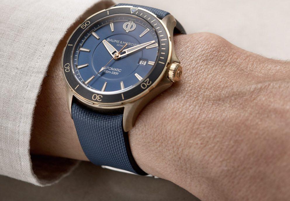 名士錶增新面貌:Clifton Club GMT兩地時間腕錶與青銅自動錶