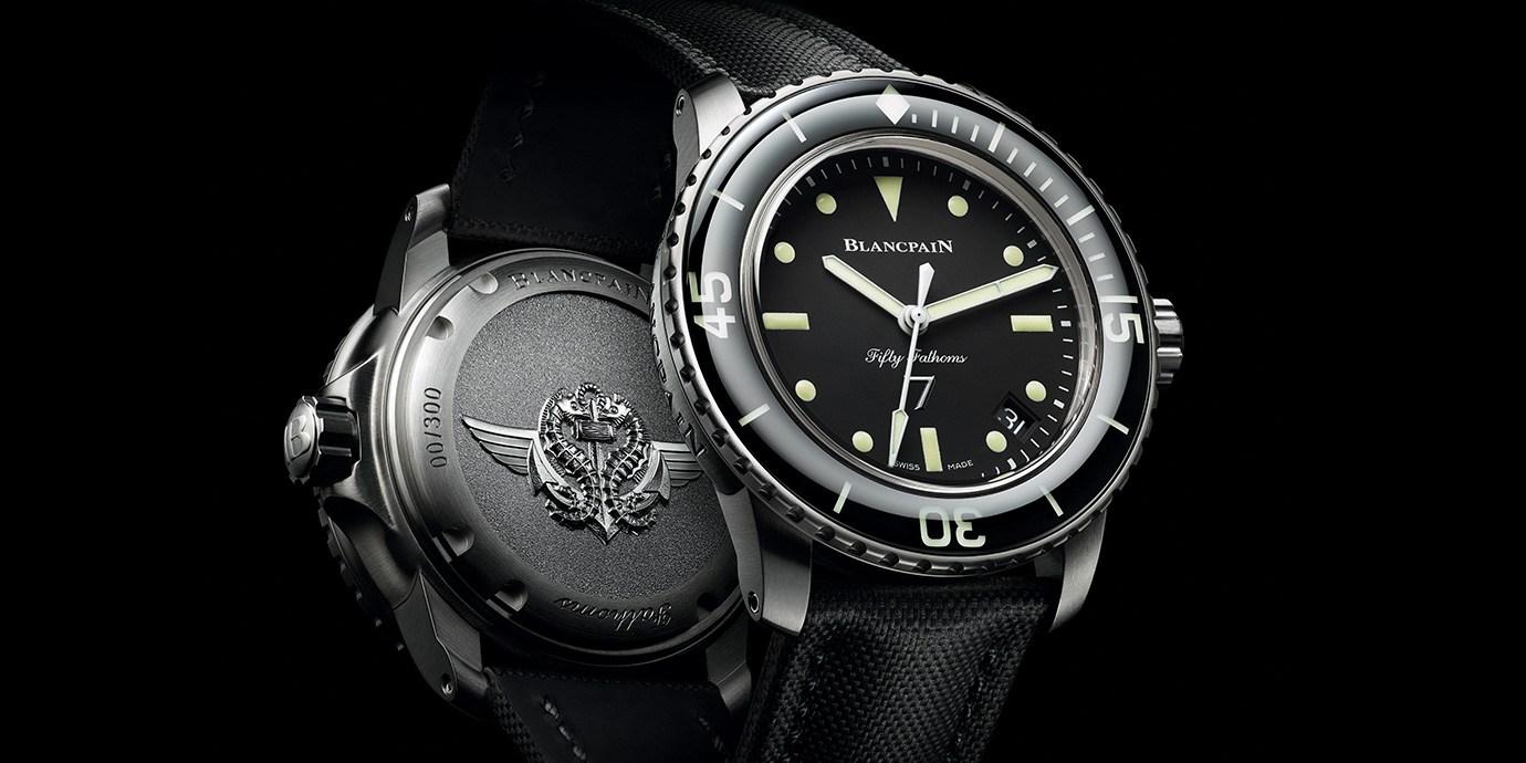 向法國海軍戰鬥潛水員致敬:Blancpain五十噚Nageurs de Combat腕錶