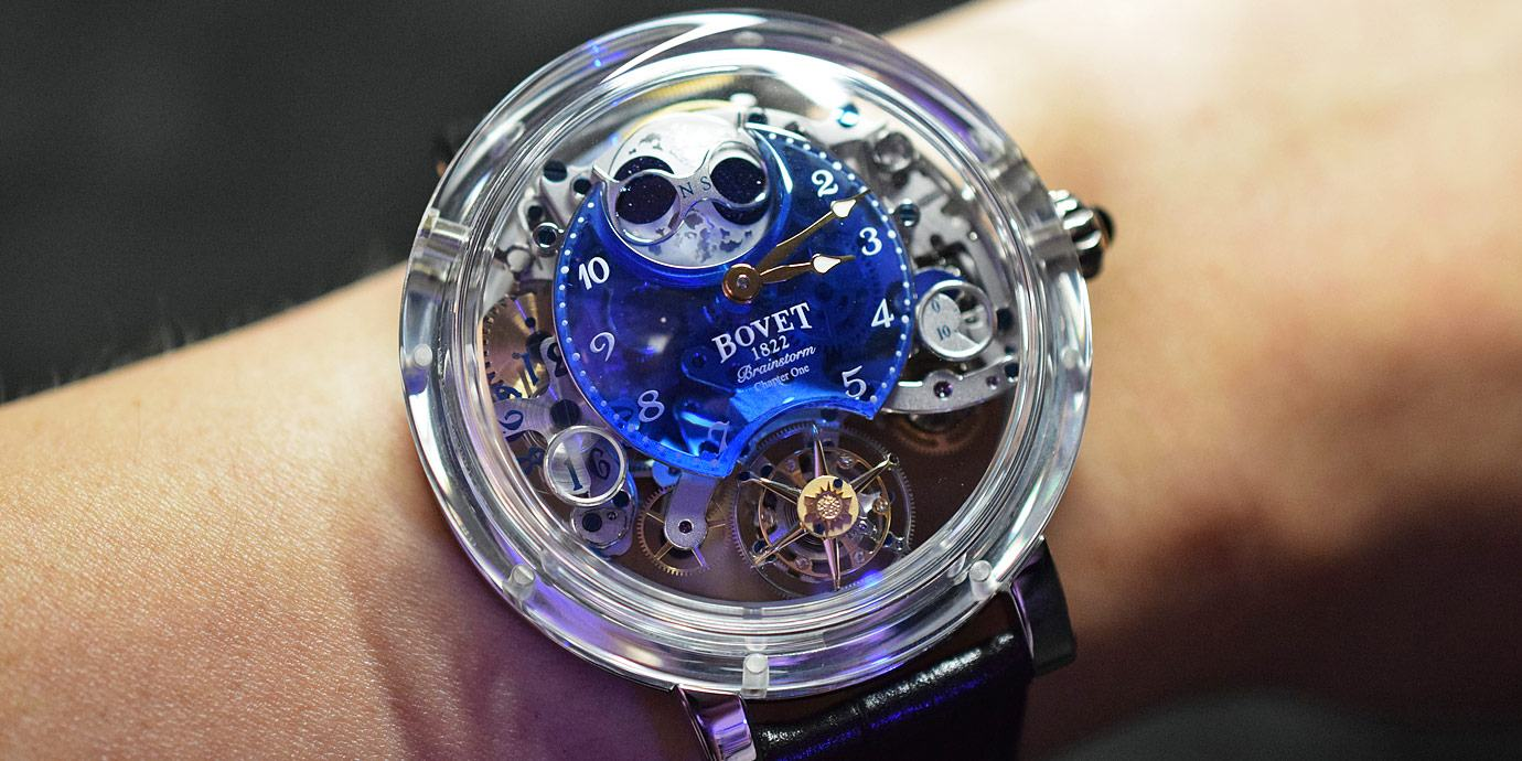 千萬台幣的腕上藝術品:Bovet強勢回歸台灣市場