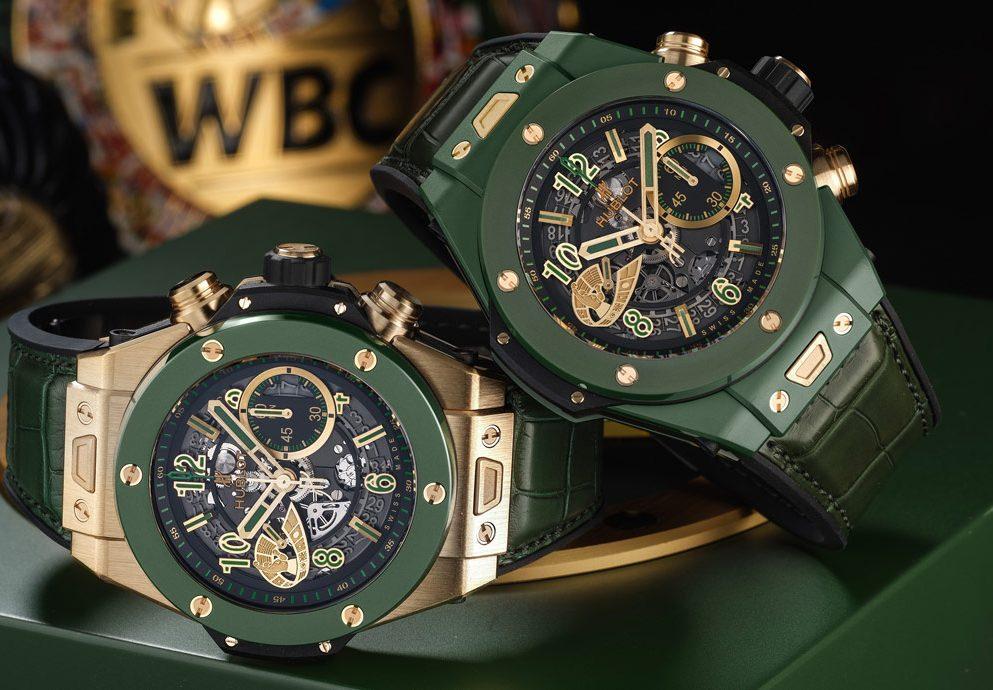 揮出綠陶瓷重拳:Hublot Big Bang Unico WBC計時碼錶