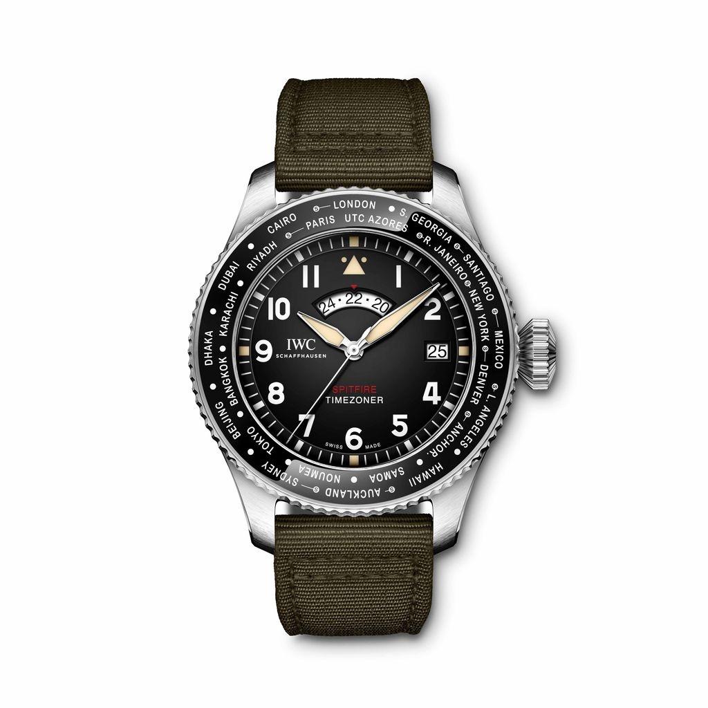 IWC 噴火戰機世界時區腕錶「最長的飛行」特別版 (型號 IW395501)