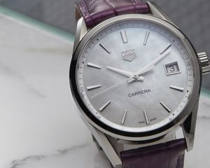 超模Cara Delevingne的美艷夥伴:TAG Heuer Carrera Lady腕錶