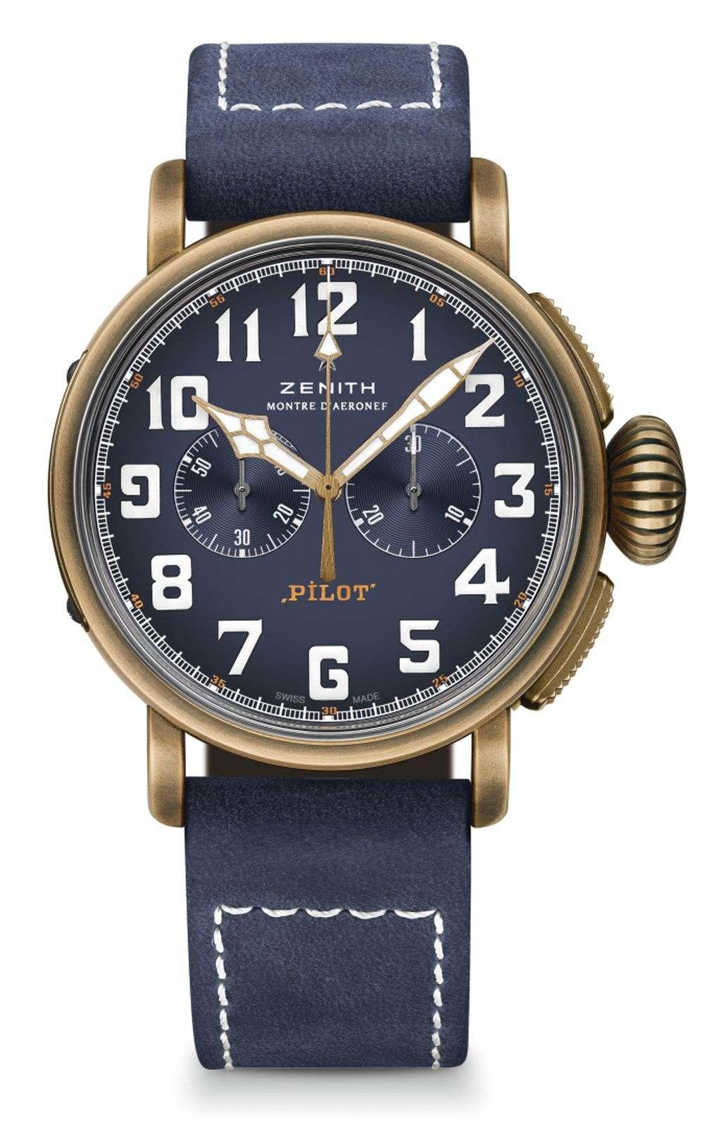 Zenith Pilot Type 20 Extra Special Chronograph 青銅腕錶