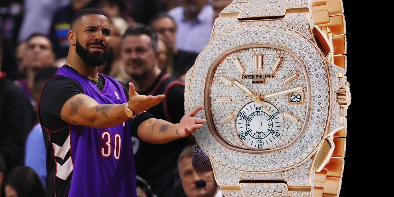 Drake的閃亮金鷹:Patek Philippe Nautilus Chronograph Ref.5980全鑽款