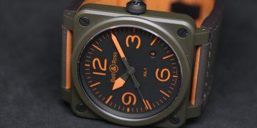致敬經典飛行外套:Bell & Ross BR 03-92 MA-1飛行錶
