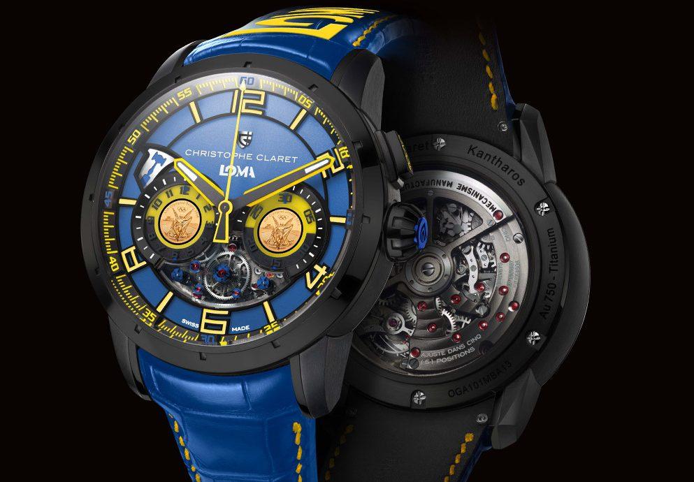 與拳王攜手推出的殿堂級時計:Christophe Claret Loma腕錶