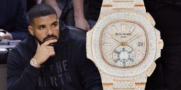NBA總冠軍賽場邊焦點:饒手歌手Drake與他的腕錶收藏
