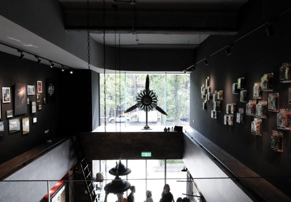 在美術館吃甜點,賞錶:金光鐘錶全新概念店