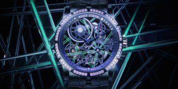 散發星辰般的夜光:Roger Dubuis Excalibur Blacklight