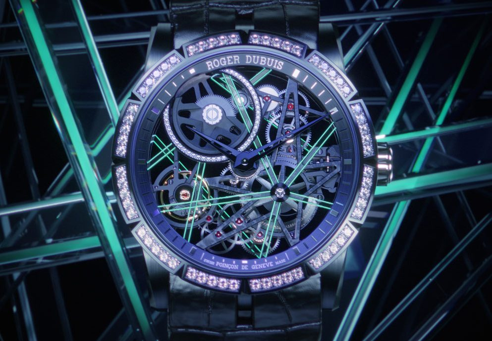 散發星辰般的夜光:Roger Dubuis Excalibur Blacklight