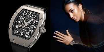 豪氣女力:RICHARD MILLE RM 67-01 自動上鍊超薄腕錶