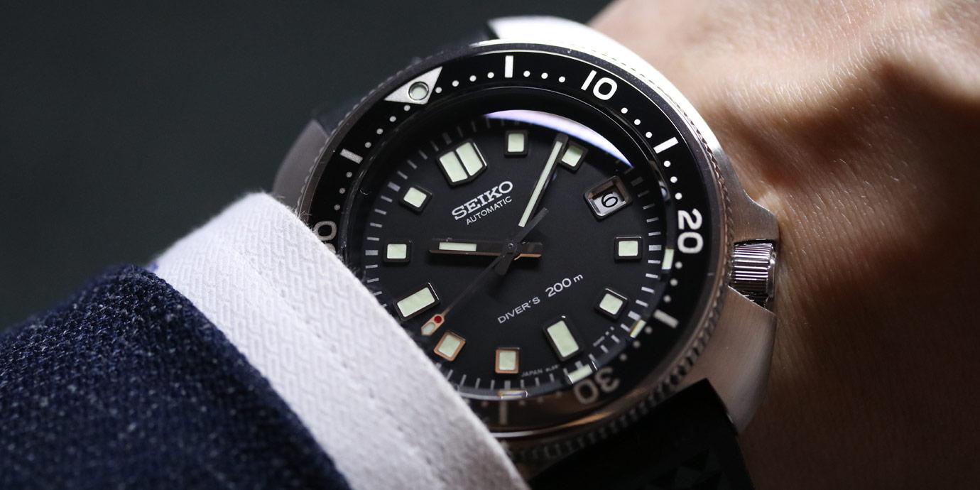 夏天必備:Seiko 1970 Diver's潛水錶復刻限量版
