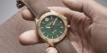 全新功能與樣貌:名士克里頓俱樂部系列青銅自動腕錶與GMT兩地時間腕錶