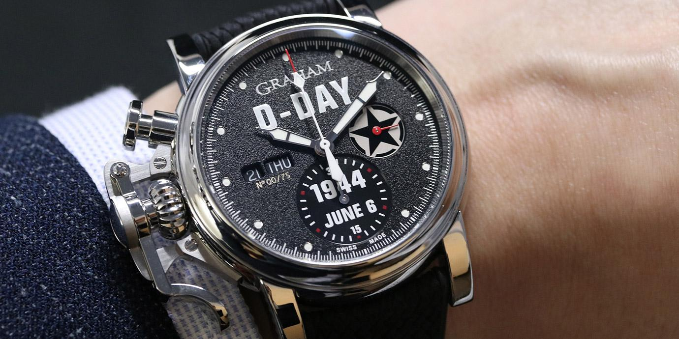 諾曼地登陸75周年:Graham打造Chronofighter Vintage紀念錶