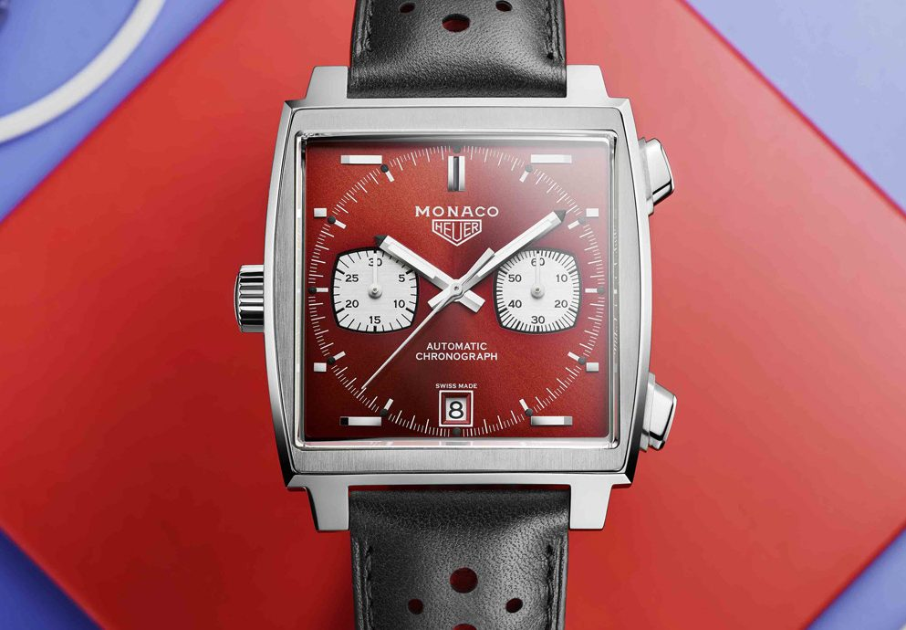50週年紀念第二波:TAG Heuer Monaco 1979–1989限量典藏版腕錶