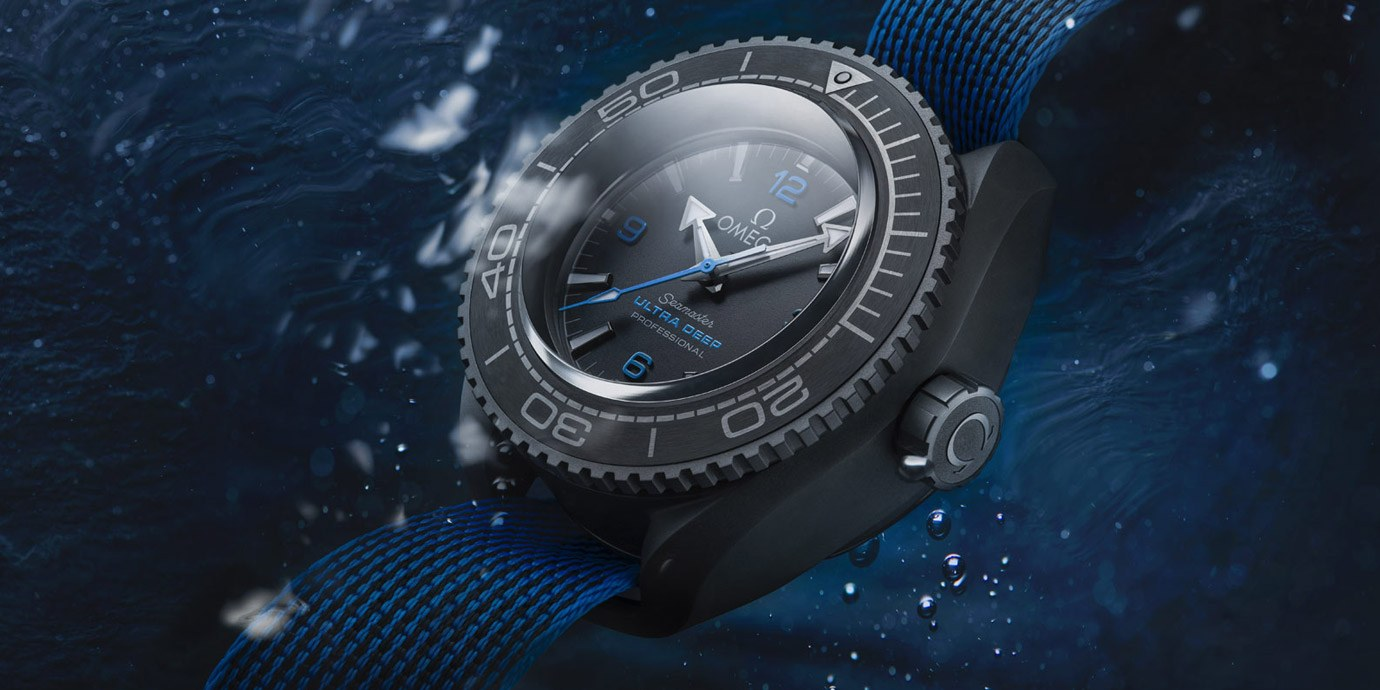 創下最新深潛紀錄:Omega Seamaster Planet Ocean Ultra Deep Professional
