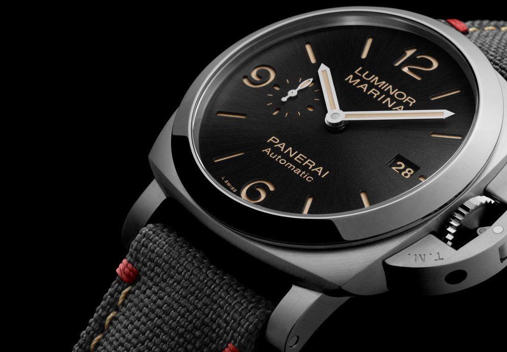 慶祝羅馬專賣店開幕:Panerai推出Luminor Marina特別版腕錶