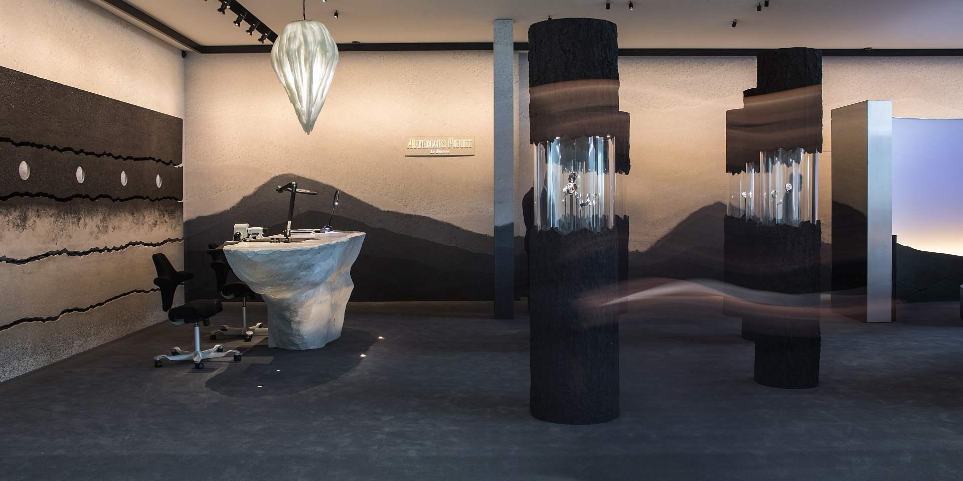 汝拉山谷聲響重現於2019年巴塞爾藝術展收藏家會客廳愛彼展區