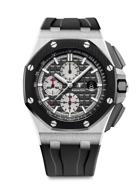 愛彼皇家橡樹離岸型44毫米計時碼錶鈦金屬版