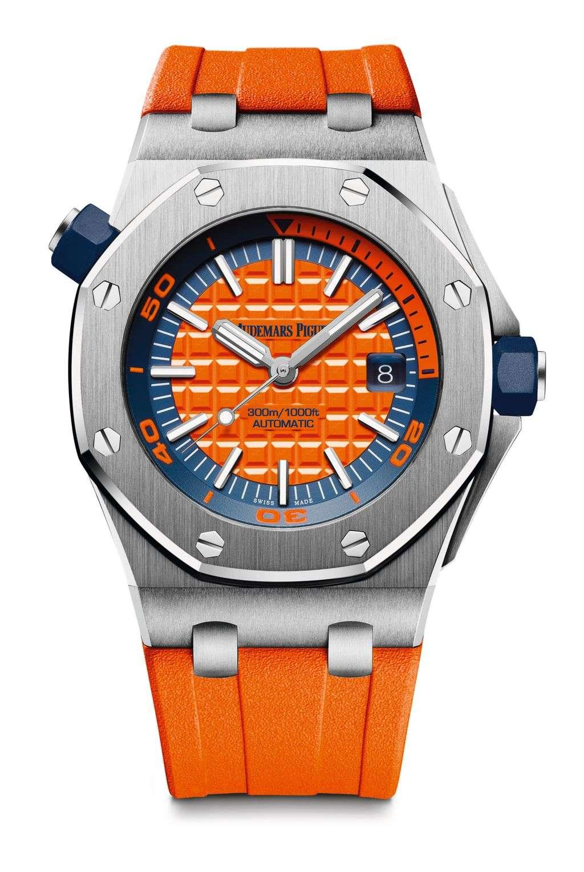 愛彼皇家橡樹離岸型 DIVER 自動上鍊潛水錶