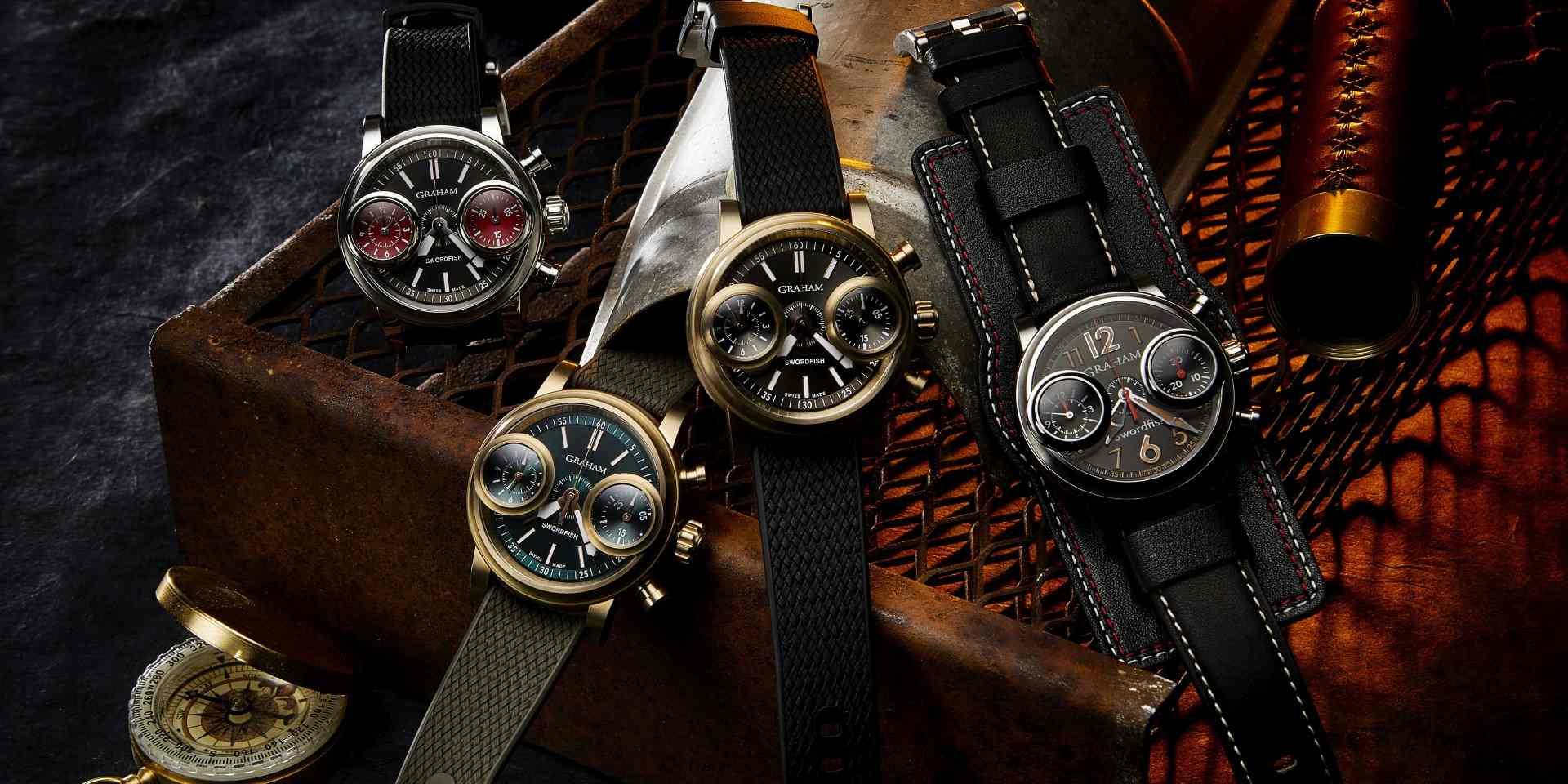 一反常態,大行其道: Graham Swordfish腕錶
