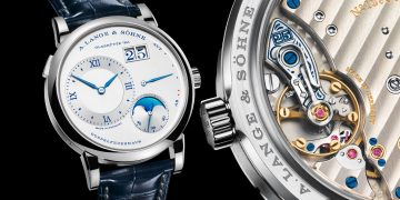 "25週年紀念系列再添新成員:朗格Lange 1 Moon Phase ""25th Anniversary"""