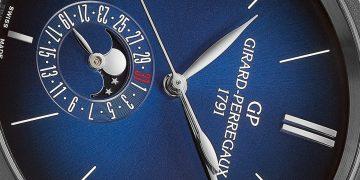 每一刻都像從太空看地球:GP芝柏表1966系列天際行者 Blue Moon腕錶